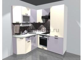 Кухонный гарнитур 1,65 х 1,9 (МДФ ПВХ матовый)
