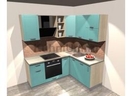 Кухонный гарнитур 2 1,65 х 1,9 (МДФ ПВХ матовый)